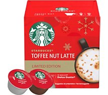 Capsules Nestle  STARBUCKS BY DOLCE GUSTO TOFFEE LATTE
