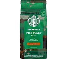 Café en grain Nestle  STARBUCKS GRAINS PIKE PLACE ROAST 450g