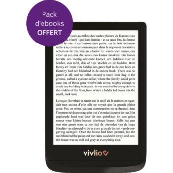 Vivlio Touch Lux 4  6¨ Noire - 8Go