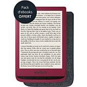 Liseuse eBook TEA VivlioTouch Lux 4 rouge + housse
