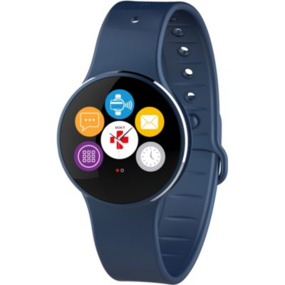 mykronoz montre connect e zecircle 2 bleu smartphonespaschers. Black Bedroom Furniture Sets. Home Design Ideas