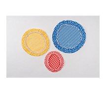 Clips de conservation Nuts  pour bols assortis coton x3