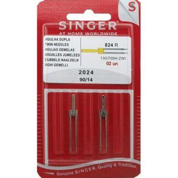Singer Blister 2 aiguilles jumelles 4mm- 2024