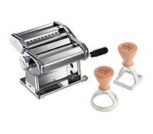 Machine à pâtes Marcato  Atlas 150 et 2 découpes pates