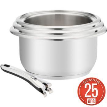 Lagostina casseroles Maestria inox 4 pces