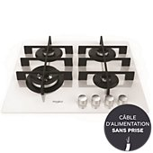 Table gaz Whirlpool W COLLECTION GOW6423WH