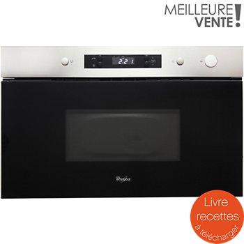 whirlpool amw490ix micro ondes encastrable boulanger. Black Bedroom Furniture Sets. Home Design Ideas