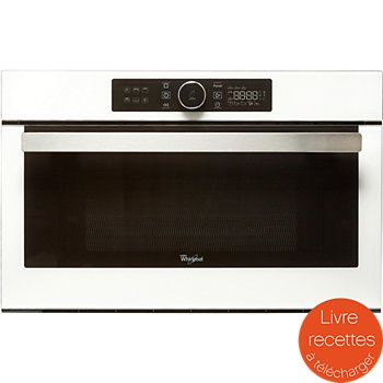 Whirlpool amw730wh micro ondes encastrable boulanger - Four micro onde boulanger ...
