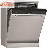 Lave vaisselle 60 cm Whirlpool WFO3033PLX