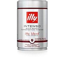 Café en grains Illy  Boite 250g Espresso grains Foncé