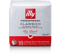 Boite à café Illy  Iperespresso  Classique Rouge