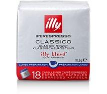 Boîte à dosettes Illy  Iperespresso Lungo