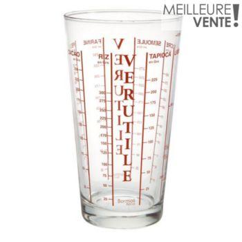 Bormioli Rocco verre mesureur 58 cl Verutile