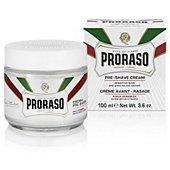 Crème de rasage Proraso Crème avant rasage 100ml