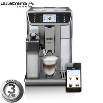 Delonghi PrimaDonna Elite ECAM650.55.MS connecté