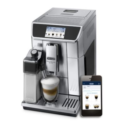 Location Expresso Broyeur Delonghi PrimaDonna Elite ECAM650.75.MS connecté