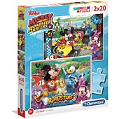 Puzzle Clementoni Mickey and the Roadster Racers - 2x20 pi