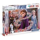 Puzzle Clementoni  Glitter - La Reine des Neiges 2 - 104 pi