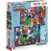 Puzzle Clementoni Marvel Superhero - 2x20 pièces