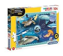Puzzle Clementoni  National Geographic Kids 104 pc Océan