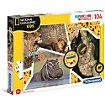 Puzzle Clementoni National Geographic Kids 104 pc sauvage