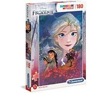 Puzzle Clementoni  La Reine des Neiges 2 - 180 pièces
