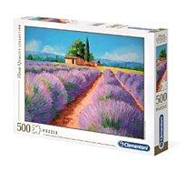 Puzzle Clementoni  Lavender scent - 500 pièces