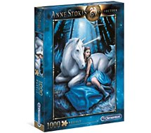Puzzle Clementoni  Blue Moon - Anne Stokes 1000 pièces