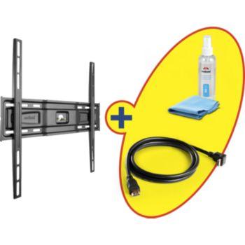 Meliconi Fixe 40 à 80 pouces+HDMI 2m+Nettoyant