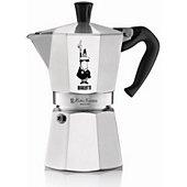 Cafetière italienne Bialetti Moka express Silver 6 tasses expresso