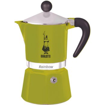 Bialetti Rainbow 6 tasses green
