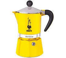 Cafetière italienne Bialetti  Rainbow 6 tasses Yellow