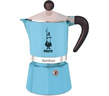 Cafetière italienne Bialetti  Rainbow 6 tasses Light blue