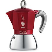 Cafetière italienne Bialetti Moka induction 6 tasses RED