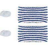 Lingette Polti 2 serpillères & 2 bonnettes / 3 Clean