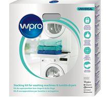 Kit de superposition Wpro SKS101 universel lave-linge/sèche-linge