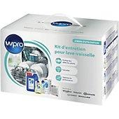 Pack entretien lave vaisselle Wpro DWK104/1 Lave-vaisselle 2 mois