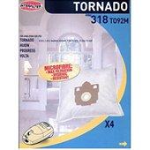 Sac aspirateur Tornado Boite de 4 microfibres SERENYS 35600826