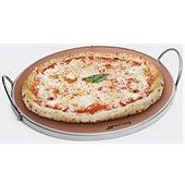 Plaque à pizza Smeg à pizza ronde avec poignées - PRTX