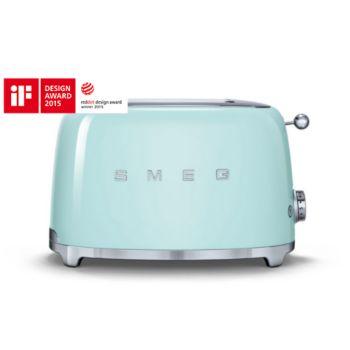 smeg tsf01pgeu vert d 39 eau grille pain boulanger. Black Bedroom Furniture Sets. Home Design Ideas