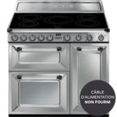 Piano de cuisson induction Smeg TR93IX