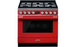 Piano de cuisson mixte Smeg portofino CPF9GMR