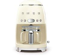 Cafetière filtre Smeg DCF01CREU Crème
