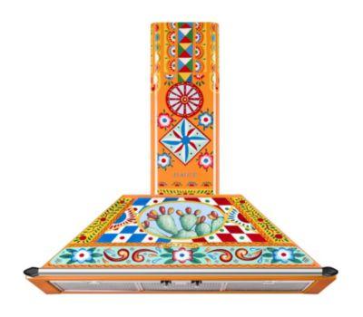 Hotte grande largeur Smeg KT90DGC Dolce Gabbana