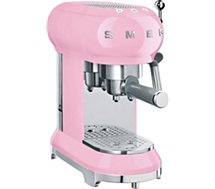 Machine à expresso Smeg  ECF01PKEU Rose