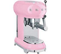 Machine à expresso Smeg  ECF01PKEU Rose
