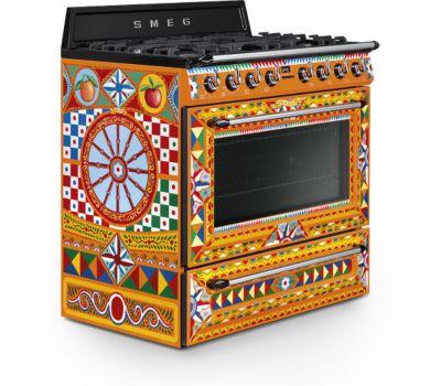 Piano de cuisson Smeg TR90DGC9 Dolce Gabbana