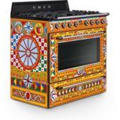 Piano de cuisson mixte Smeg TR90DGC9 Dolce Gabbana