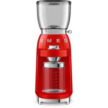 Smeg Broyeur à café CGF01RDEU Rouge