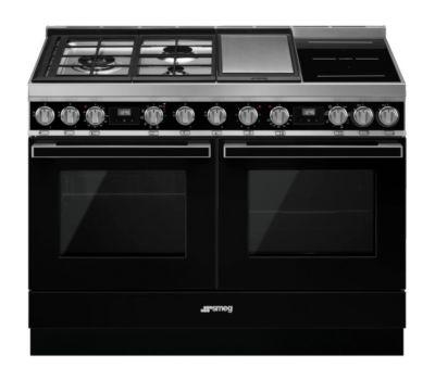 Piano de cuisson mixte Smeg CPF120IGMPBL